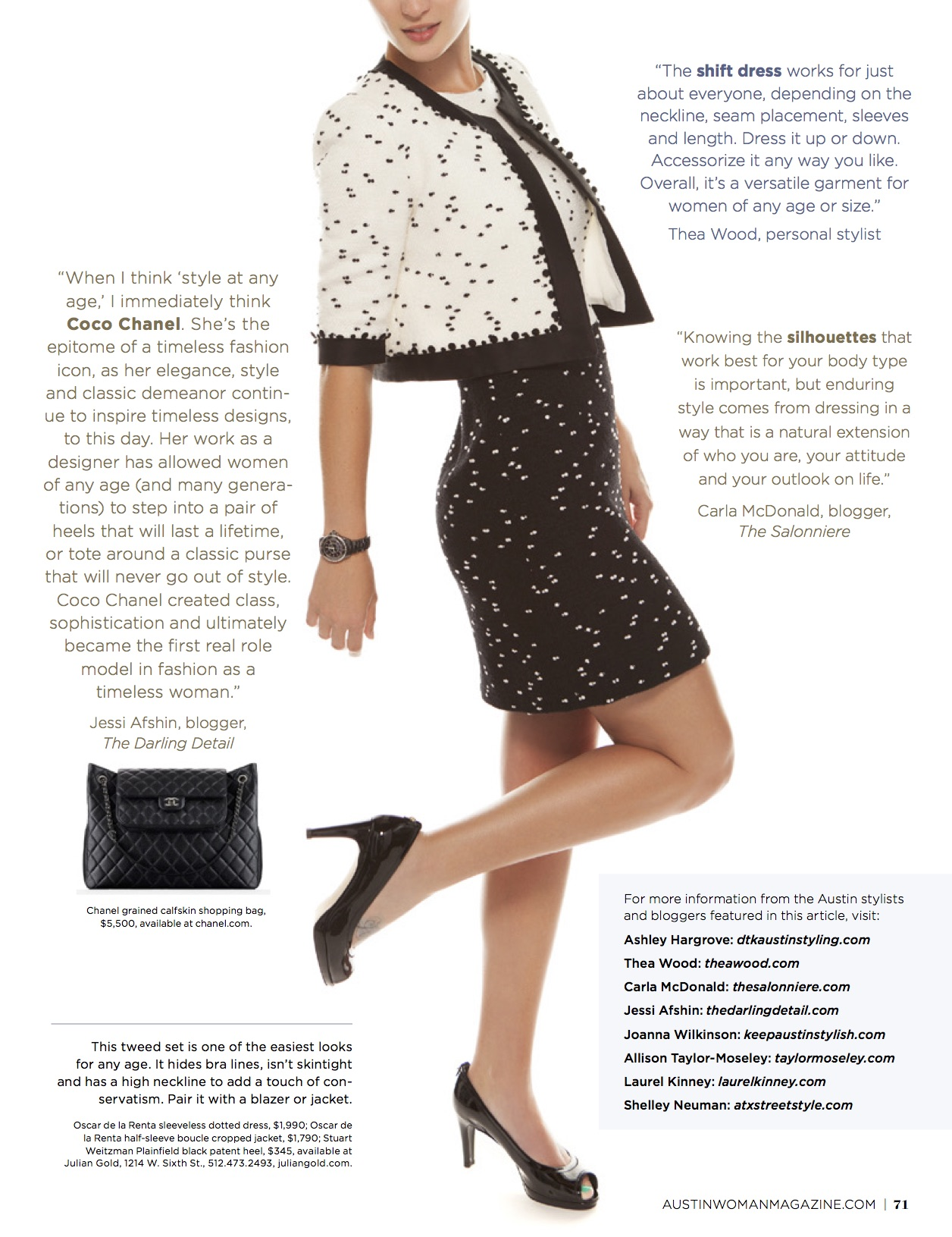 Wardrobe Stylist DTKAustin shares how to have timeless style at any age with these simple tips. | style tips and tricks | timeless style ideas | timeless fashion tips || Dressed to Kill #timelessbeauty #timelessstyle
