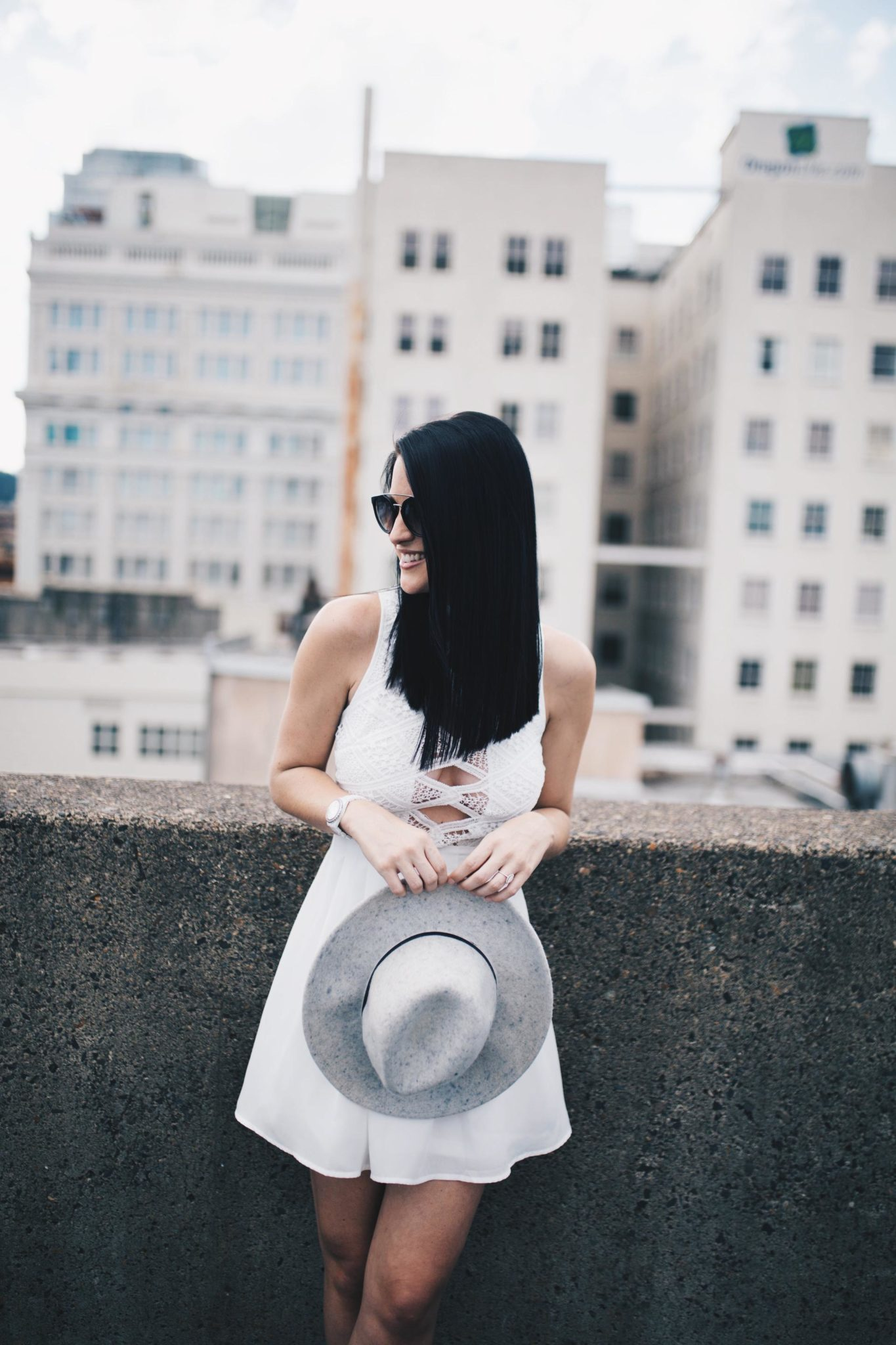 White Cutout Lace Dress | summer fashion tips | summer outfit ideas | summer style tips | what to wear for summer | warm weather fashion | fashion for summer | style tips for summer | outfit ideas for summer || Dressed to Kill