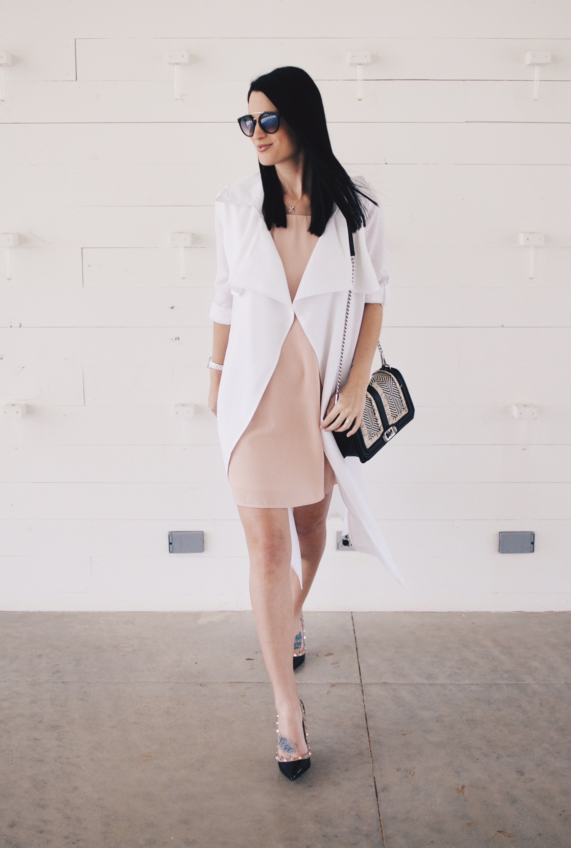 Blush Pink Dress | summer fashion tips | summer outfit ideas | summer style tips | what to wear for summer | warm weather fashion | fashion for summer | style tips for summer | outfit ideas for summer || Dressed to Kill
