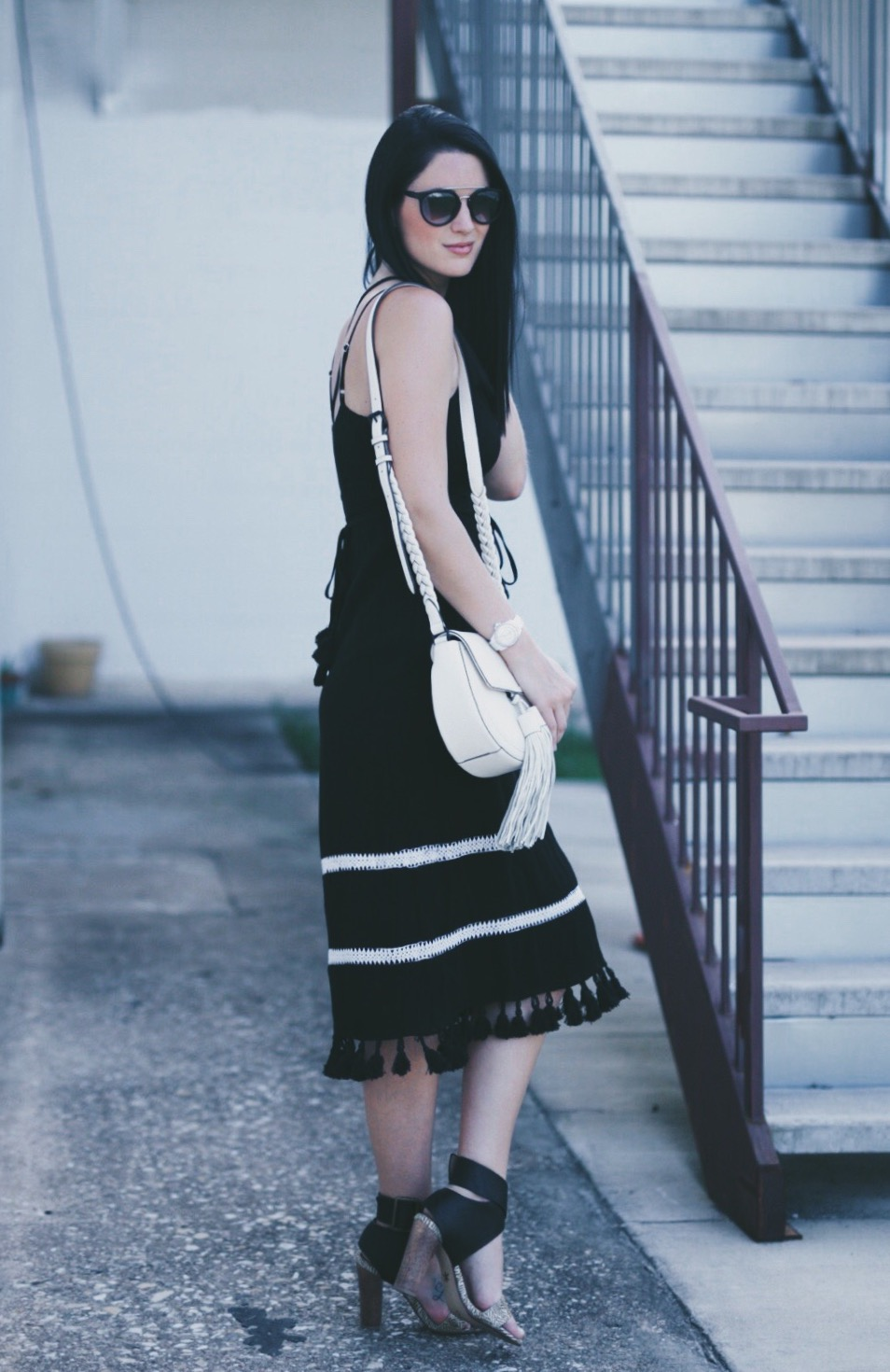 Tassle Black Dress | summer fashion tips | summer outfit ideas | summer style tips | what to wear for summer | warm weather fashion | fashion for summer | style tips for summer | outfit ideas for summer || Dressed to Kill