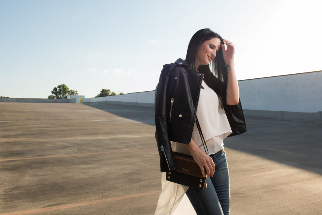 Blank NYC Black Leather Jacket