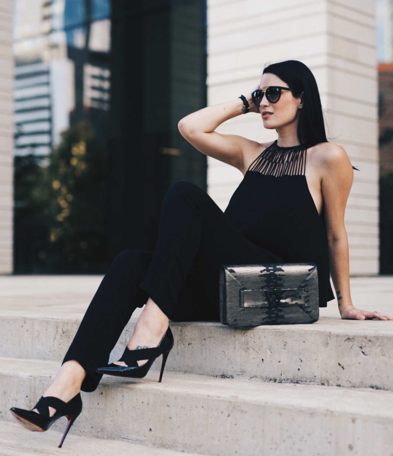 Ella Moss Jumpsuit | how to style a jumpsuit | how to wear a jumpsuit | jumpsuit style ideas | summer fashion tips | summer outfit ideas | summer style tips | what to wear for summer | warm weather fashion | fashion for summer | style tips for summer | outfit ideas for summer || Dressed to Kill