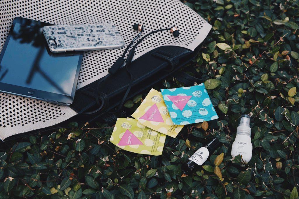 {Gym Bag Essentials w/SweetSpot Labs}