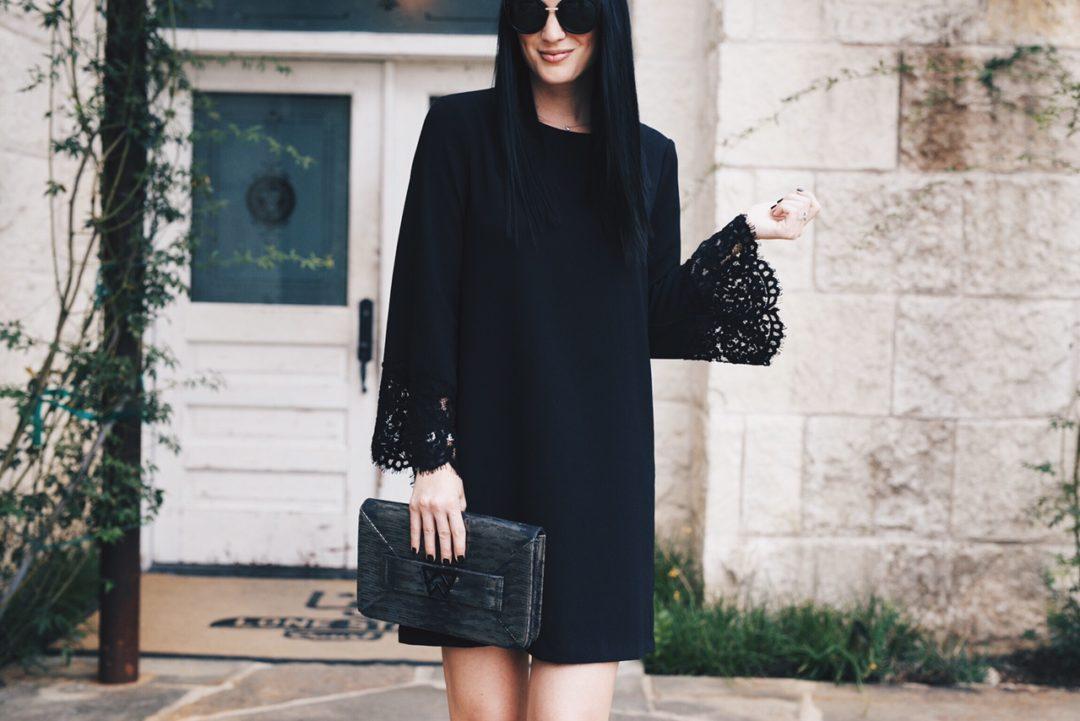 Wayf Black Dress Nordstrom