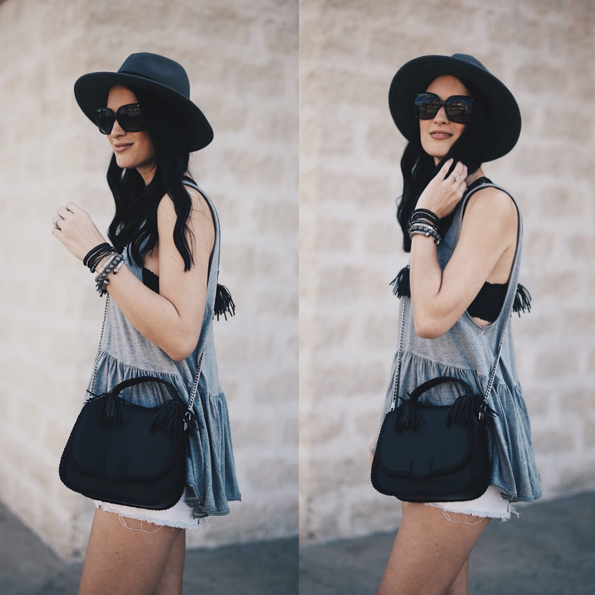 Ashley of DTKAustin shares one of her favorite SXSW festival looks. This Free People top is on sale for $30 and this Rebecca Minkoff bag is a new release! Click for more photos and info.