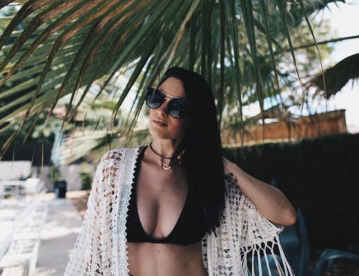 DTKAustin is sharing her pool day essentials and favorite affordable little black bikinis! Click for more pool day pics and outfit details.