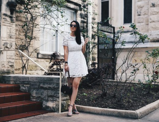 DTKAustin shares a gorgeous white, lace dress from Chicwish that is perfect for Spring and Summer. Under $62 and perfect for every occasion. Click for more information and photos!