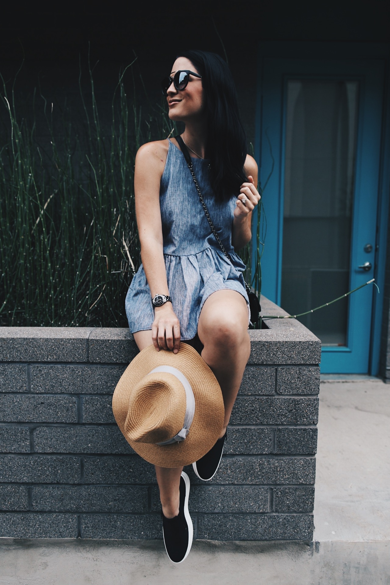 DTKAustin shares why she loves and prefers to shop online at Zappos. Snake embossed platform shoes from Timberland, top from Nordstrom.