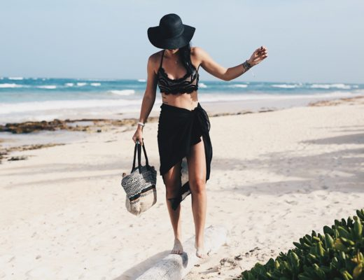 DTKAustin shares her go-to, affordable bikini from Wala Swim while on vacation in Tulum, Mexico. Click for more outfit information and photos!