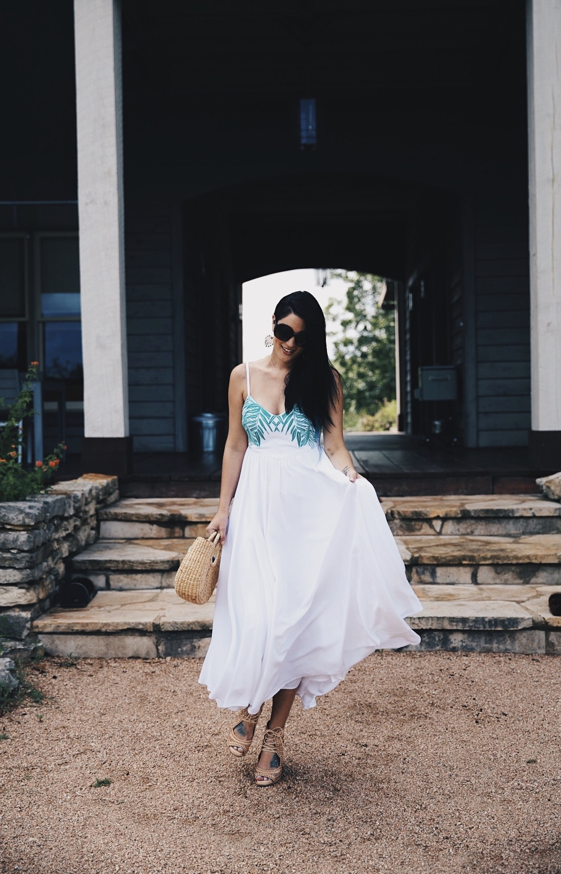 DTKAustin shares her go-to online boutique for shopping everything summer, Maison du Maillot. They have you covered for the perfect summer getaway. Click for more information and photos. | how to style an embroidered dress | how to wear an embroidered dress | embroidered dress style tips | summer fashion tips | summer outfit ideas | summer style tips | what to wear for summer | warm weather fashion | fashion for summer | style tips for summer | outfit ideas for summer || Dressed to Kill
