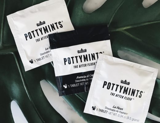 DTKAustin shares her favorite portable air freshener for travel, PottyMints. | PottyMints portable air freshener tablets review | air freshener tablets | how to use air freshener tablets || Dressed to Kill