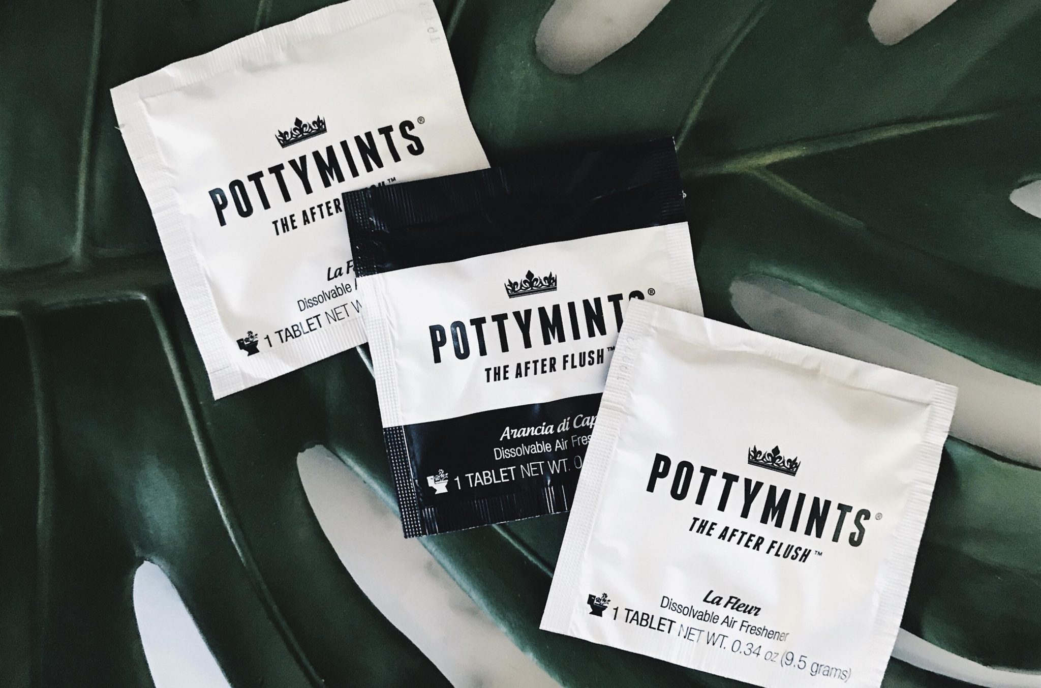 Talking Sh T With Pottymints Portable Tablet Air Freshener