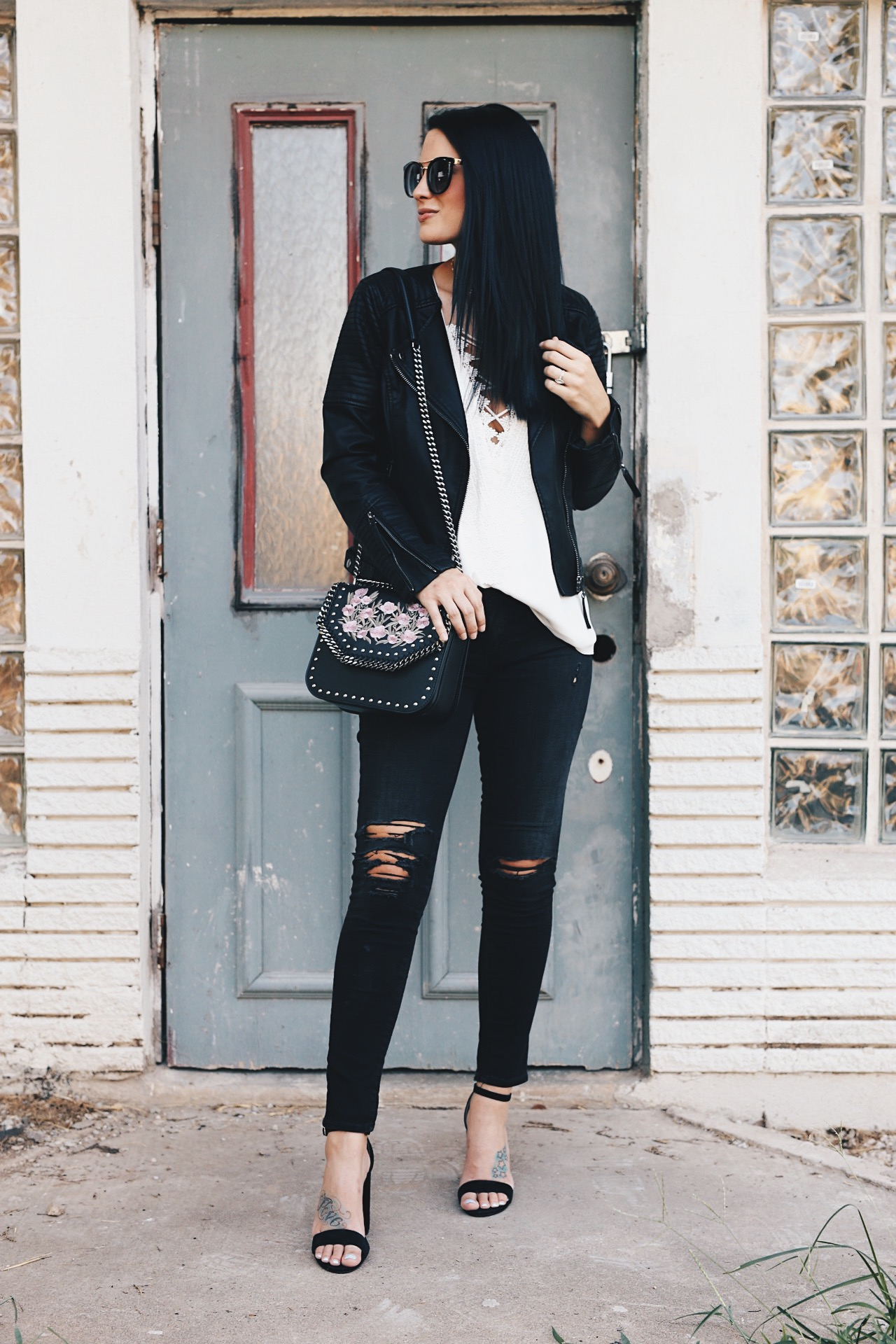 how to style an edgy outfit