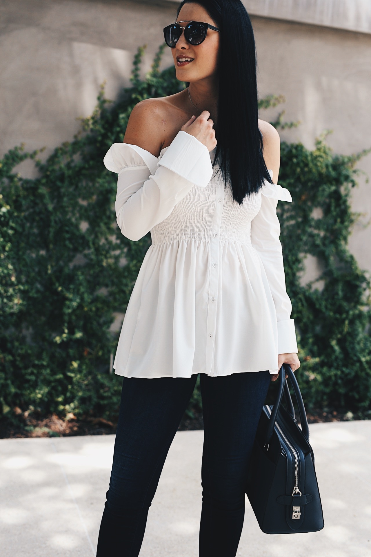 Austin Blogger DTKAustin shares why you should all be wearing white after labor day with Chicwish.