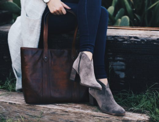 Austin Blogger DTKAustin shares her go to Fall accessories with Frye and Zappos.