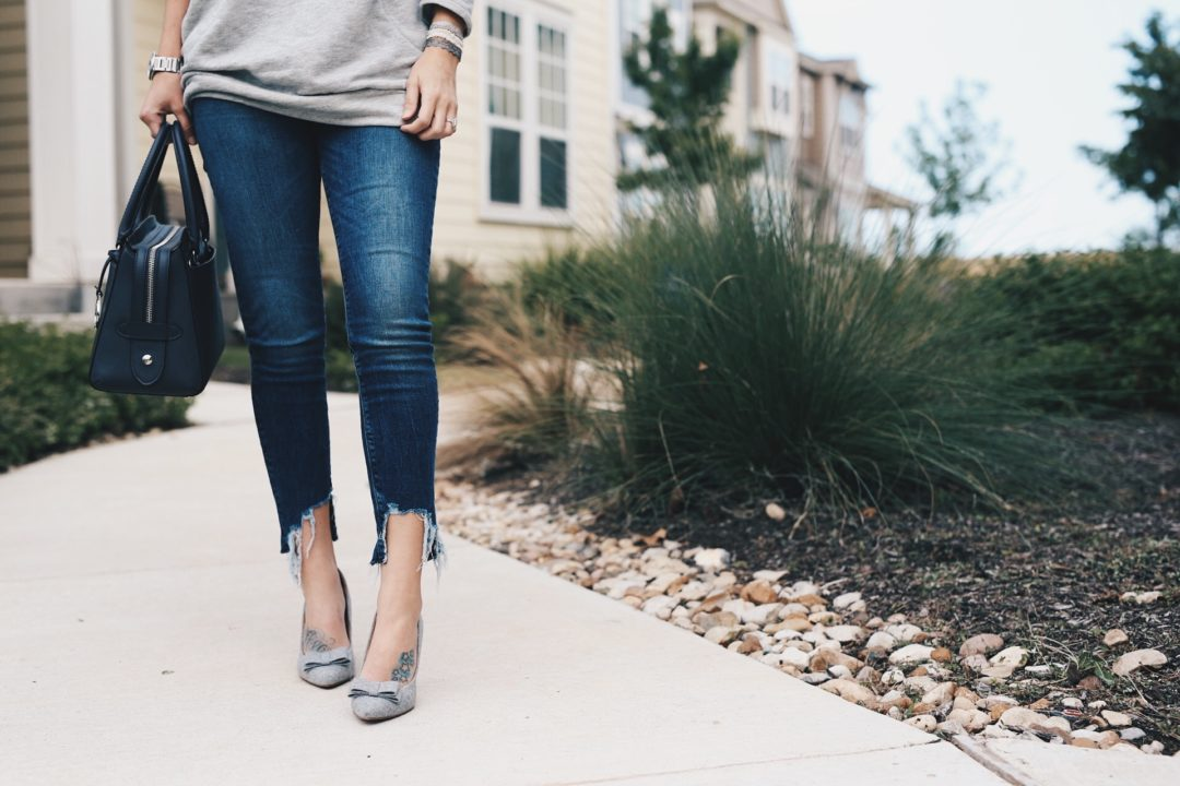 DTKAustin shares her denim secrets about the best fit to elongate legs and where the best place to shop for denim is.