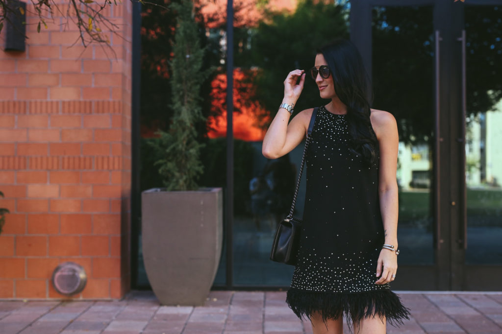 DTKAustin shares her top 12 affordable LBDs little black dresses for any holiday/Christmas occasion.