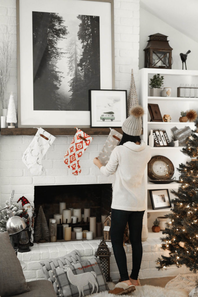 How To Hang Stockings On Mantle Dressed To Kill