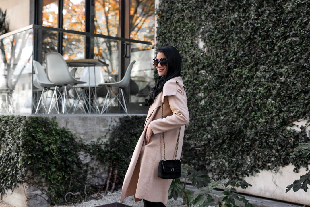 DTKAustin shares her top affordable coats from Chicwish that are under $100. Handbag from Henri Bendel, OTK boots from Goodnight Macaroon.