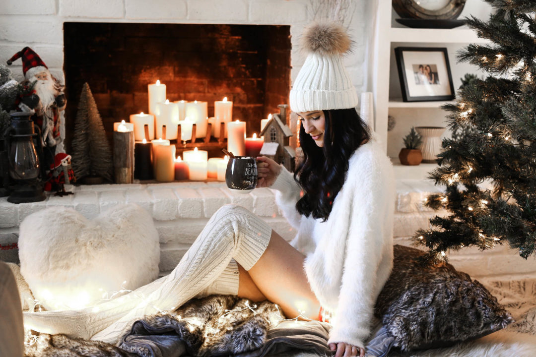 DTKAustin shares her favorite cozy must-have home decor accessories for the holidays.