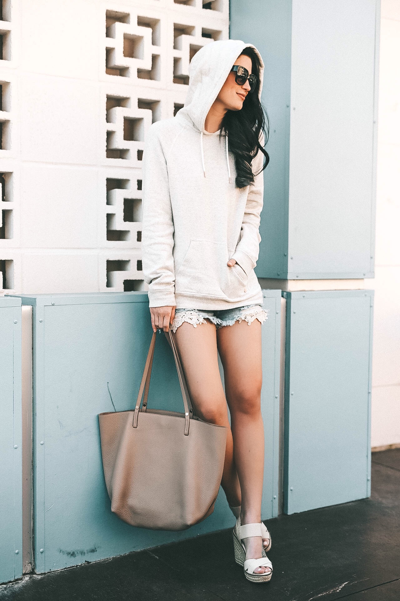 how to pull off the athleisure trend for Spring & Summer w/ Zappos and Cotton || Dressed to Kill #athleisure #summerstyle #shortsoutfit - Athleisure Trend for Summer w/Cotton & Zappos by popular Austin style blogger Dressed to Kill