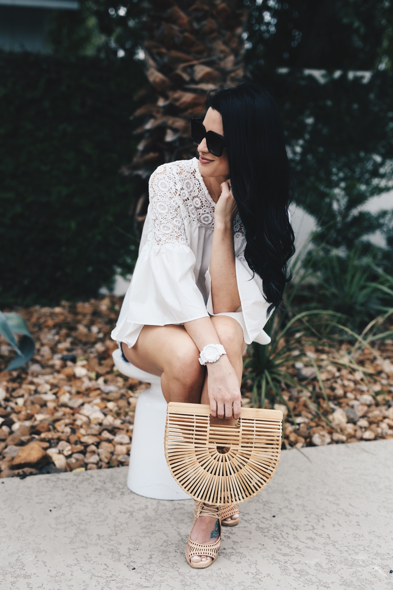 DTKAustin shares why she has always loved G Shock watches by Casio and why you need to invest in one for your summer wardrobe. || Dressed to Kill #summerstyle #summerfashion #summeroutfit - G Shock Smart Watch review by popular Austin style blogger Dressed to Kill