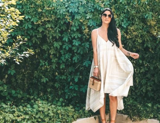 The Billy Reid Bandana Dress featured by popular Austin fashion blogger, Dressed to Kill