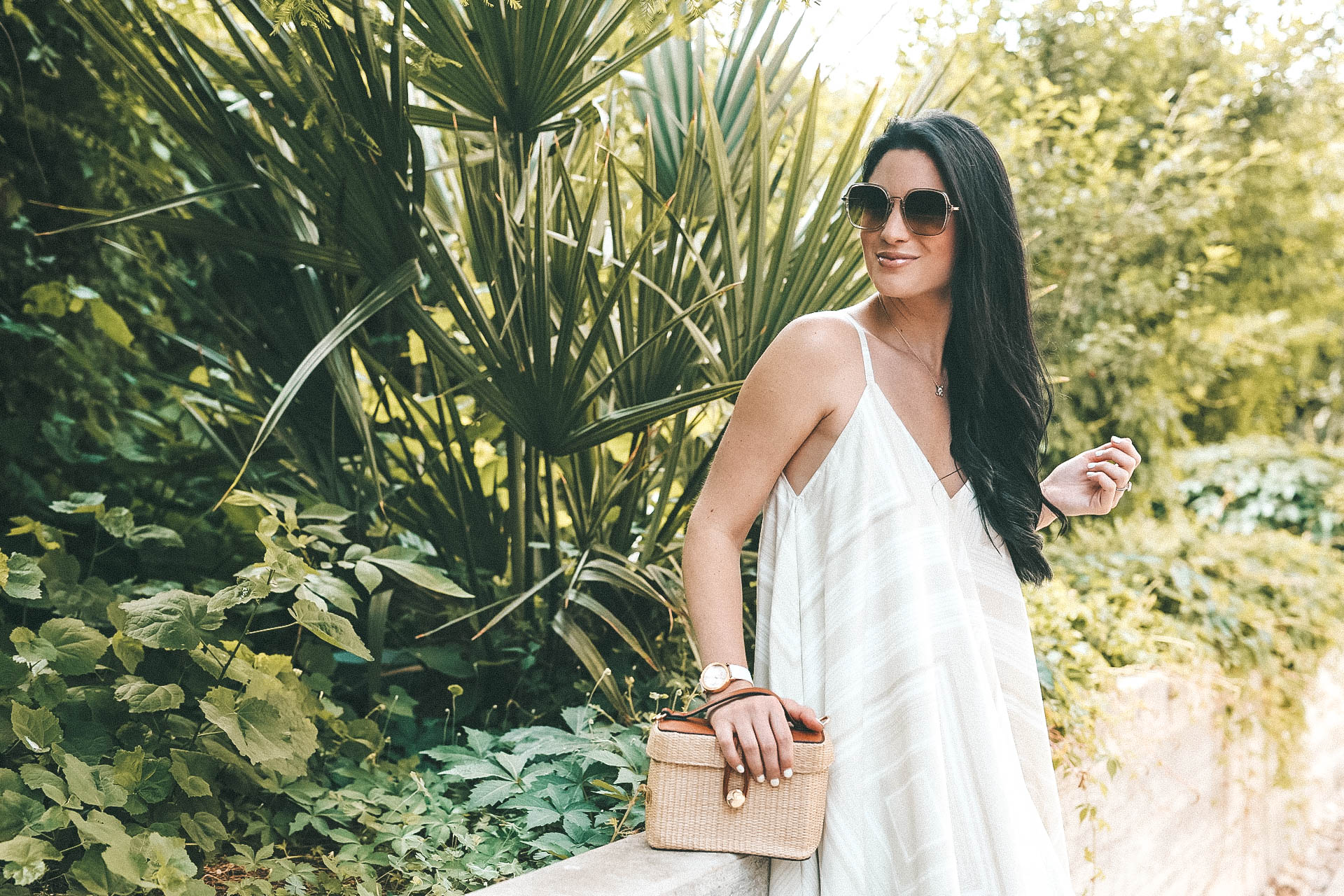 The Billy Reid Bandana Dress featured by popular Austin fashion blogger, Dressed to Kill