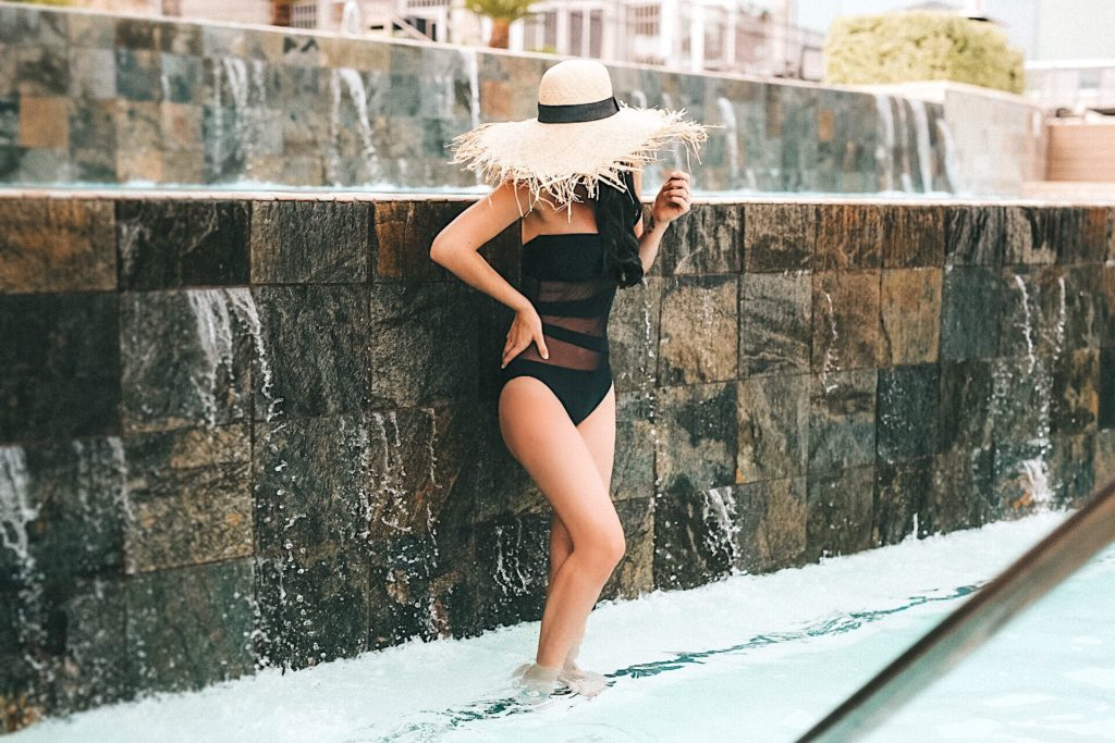 DTKAustin shares her 12 must have one piece bathing suits for summer from Nordstrom.