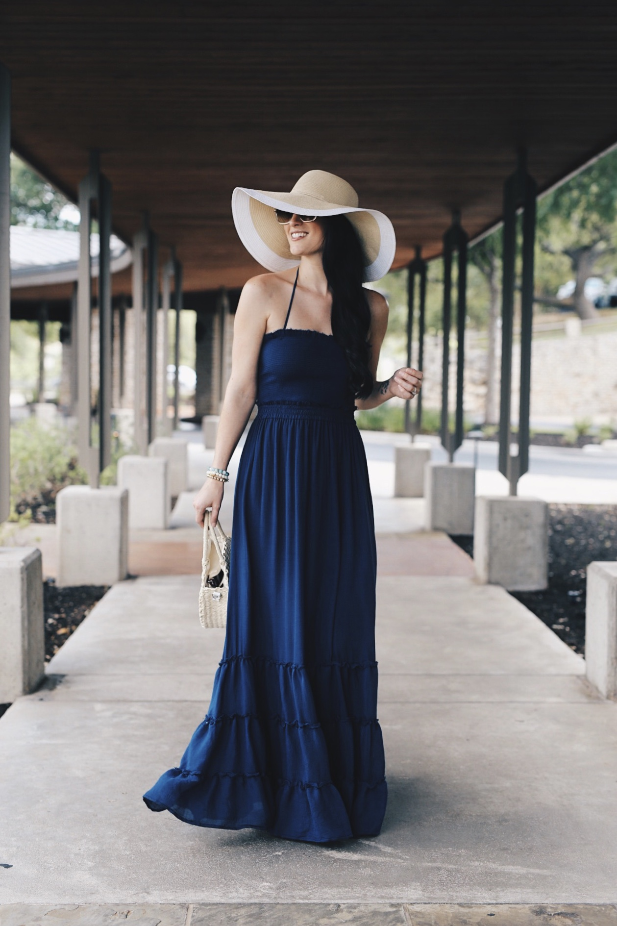Maxi Dress and Hat | summer style for women | summer fashion for women | summer outfit ideas for women || DTK Austin #fashion #style #womensoutfits #maxidress #summerhat #summerfashion #summerstyle #summeroutfits - {Best Staycation Near Austin - Lakeway Resort & Spa} by popular Austin blogger, Dressed to Kill