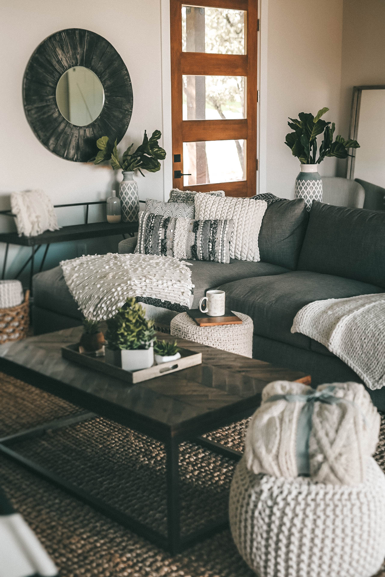 DTKAustin shares a sneak peek into her newly built home. She styled the modern farmhouse with Nordstrom Home Decor on a budget. | Make Your Home Cozier for Fall | fall home decor | decorating for fall | cozy home decor ideas || Dressed to Kill #fall #home #homedecor #fallhome #decorating #dtkaustin - Fall Home Decor for a Cozier Home with Nordstrom Decor featured by popular Austin life and style blogger, Dressed to Kill