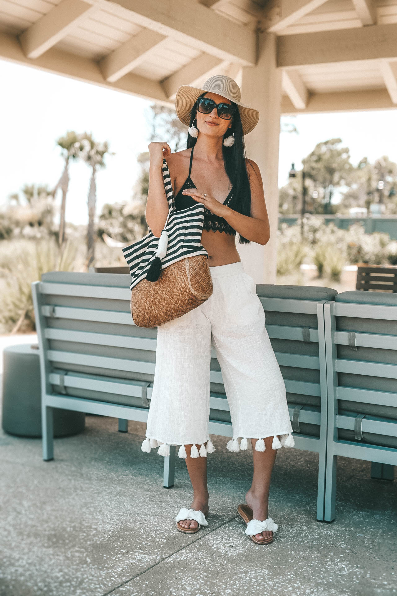 Beach Fashion: How to Look Put Together featured by popular Austin fashion blogger Dressed to Kill