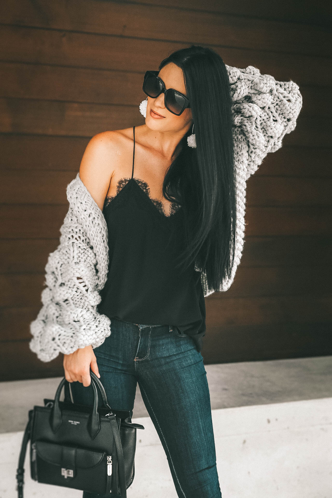 {Cozy Cardigan: I Like Knit Like That}