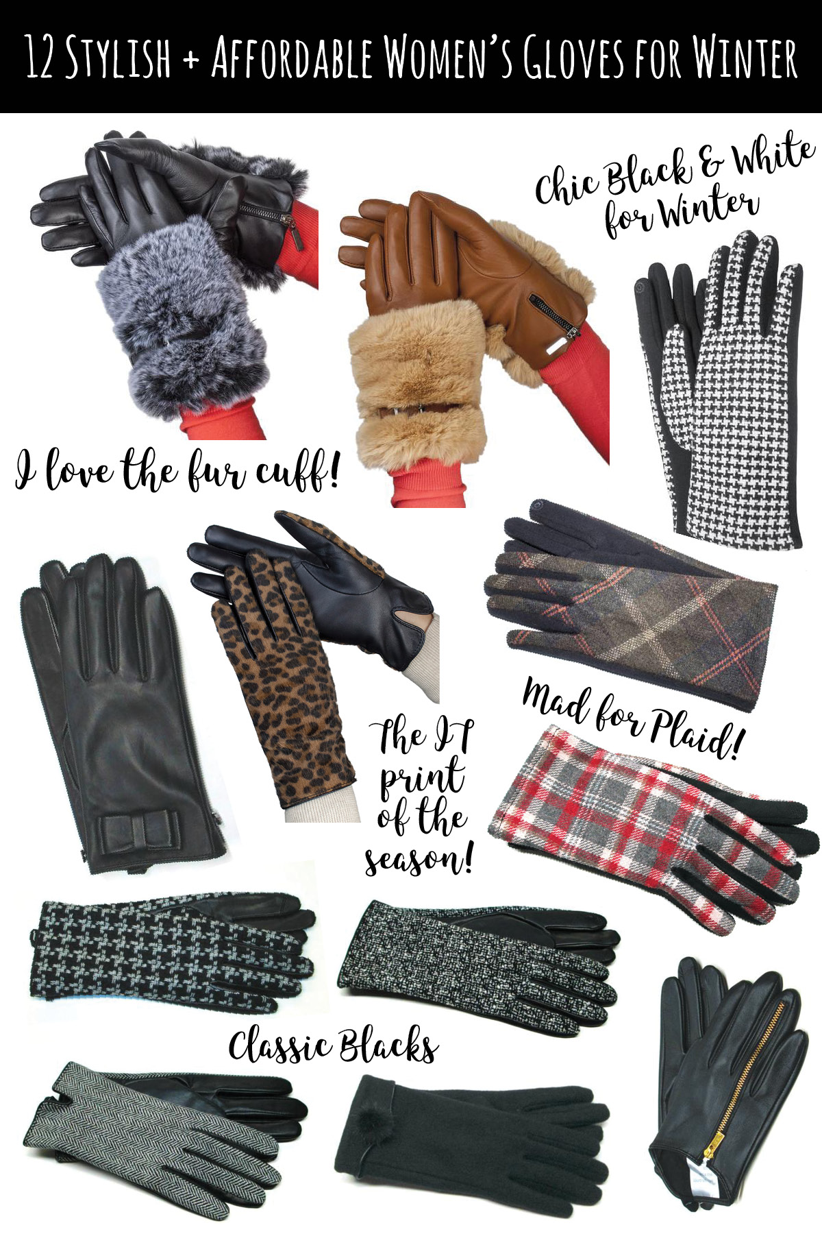 12 Must Have Stylish yet Affordable Women's Gloves for Winter | Gloves International. Gloves make the best gifts and stocking stuffers for those picky friends and family. | Women's Gift Guide | Stylish Gloves | Women's Gloves | Women's Leather Gloves | Affordable Gloves | Gloves under $50 | Designer Gloves for Women | Faux Fur Gloves | Touch Screen Gloves | Stylish Winter Gloves for Women featured by top Austin fashion blog Dressed to Kill