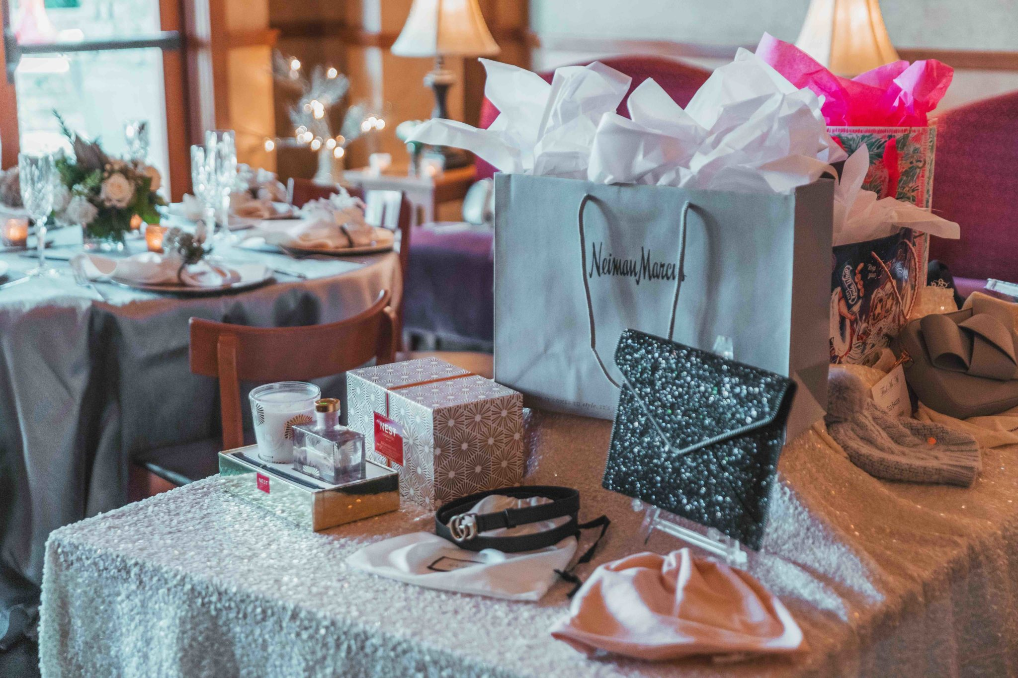 I share my top gift picks from 7 designer retailers for any and every budget. || Dressed to Kill #austintx #austinshopping #giftideas #dtkaustin