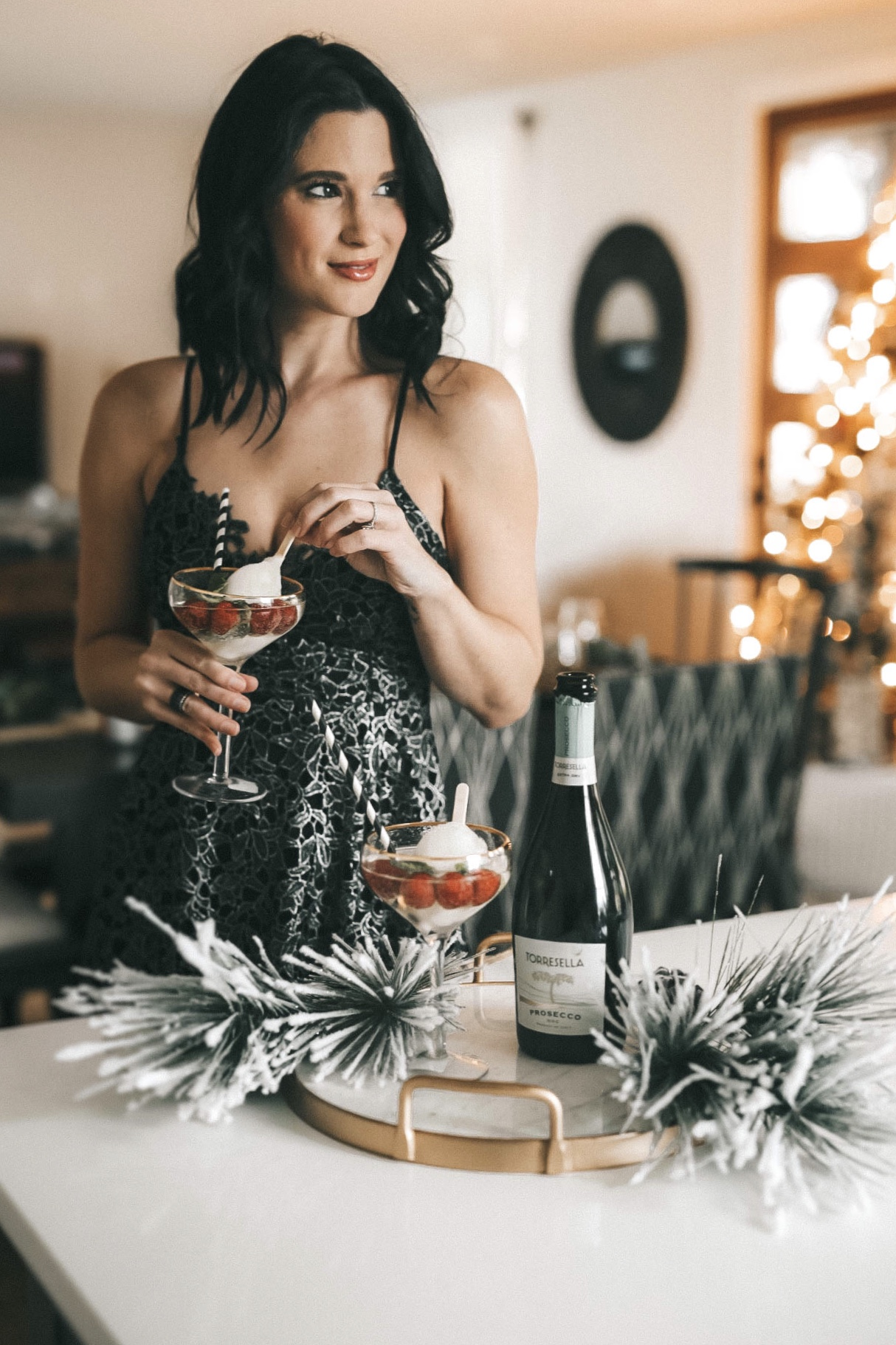 {2 Delicious and Festive Holiday Party Cocktails Recipes}