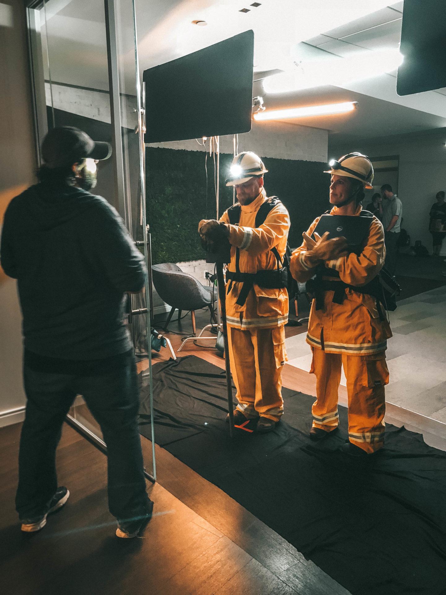 Fire Jumper Costume
