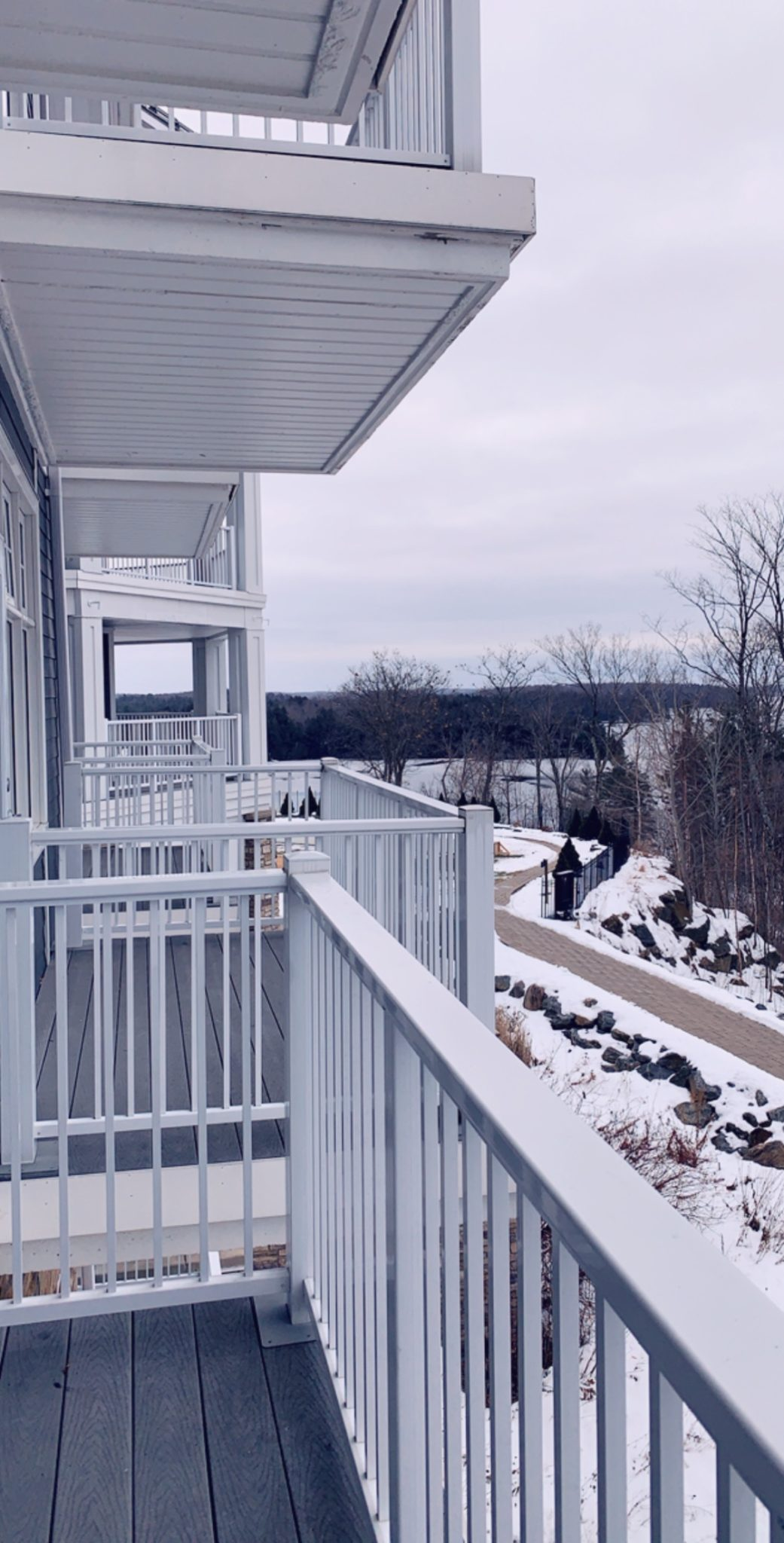 The Rosseau Muskoka featured by top US travel blog Dressed to Kill; Hotel room balcony in Canada