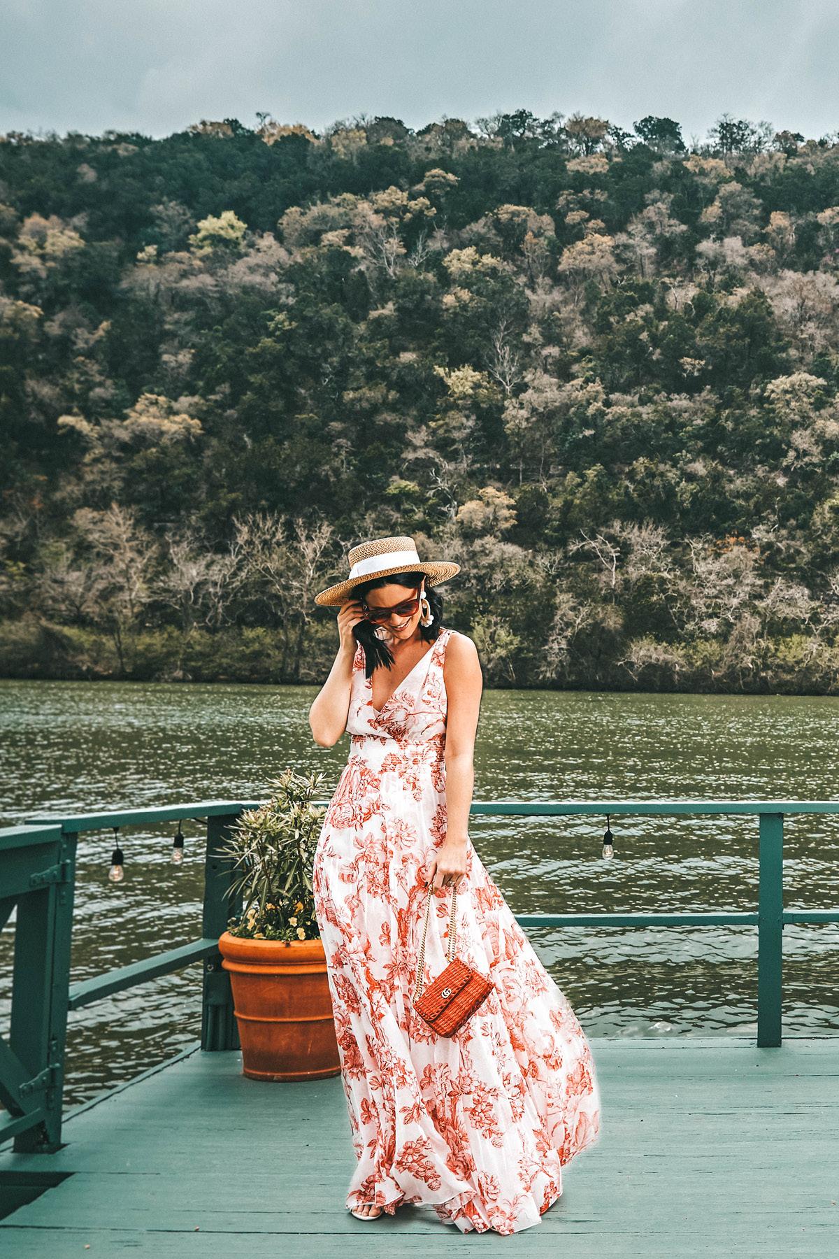 {Splurge or Steal – Summer Floral Maxi Dress}