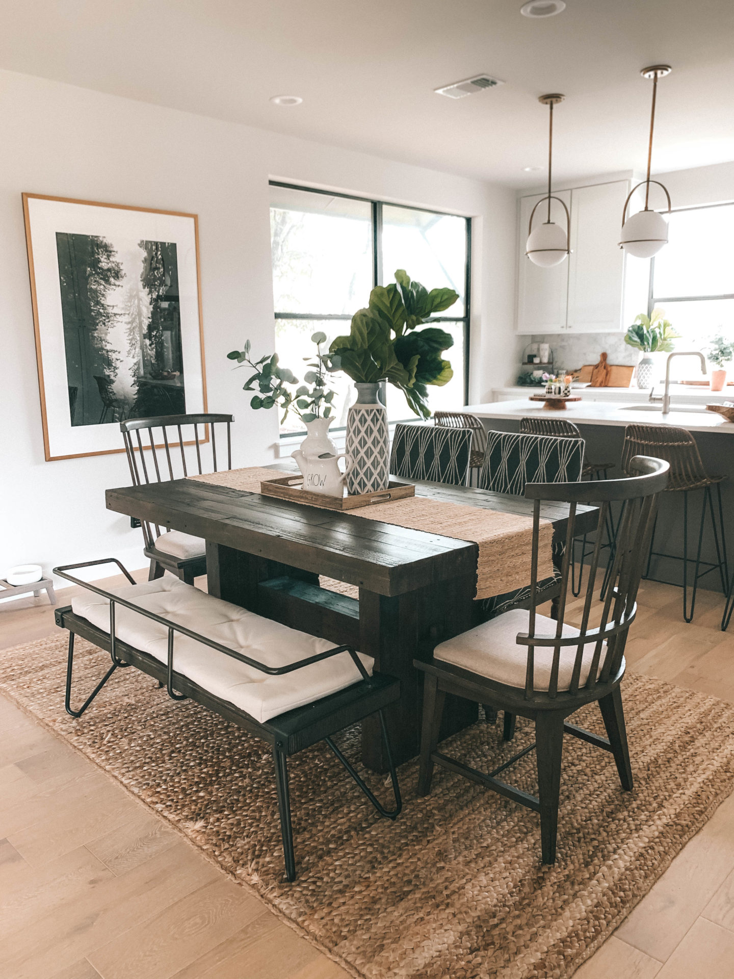 How to decorate your dining room for summer - Dressed to Kill