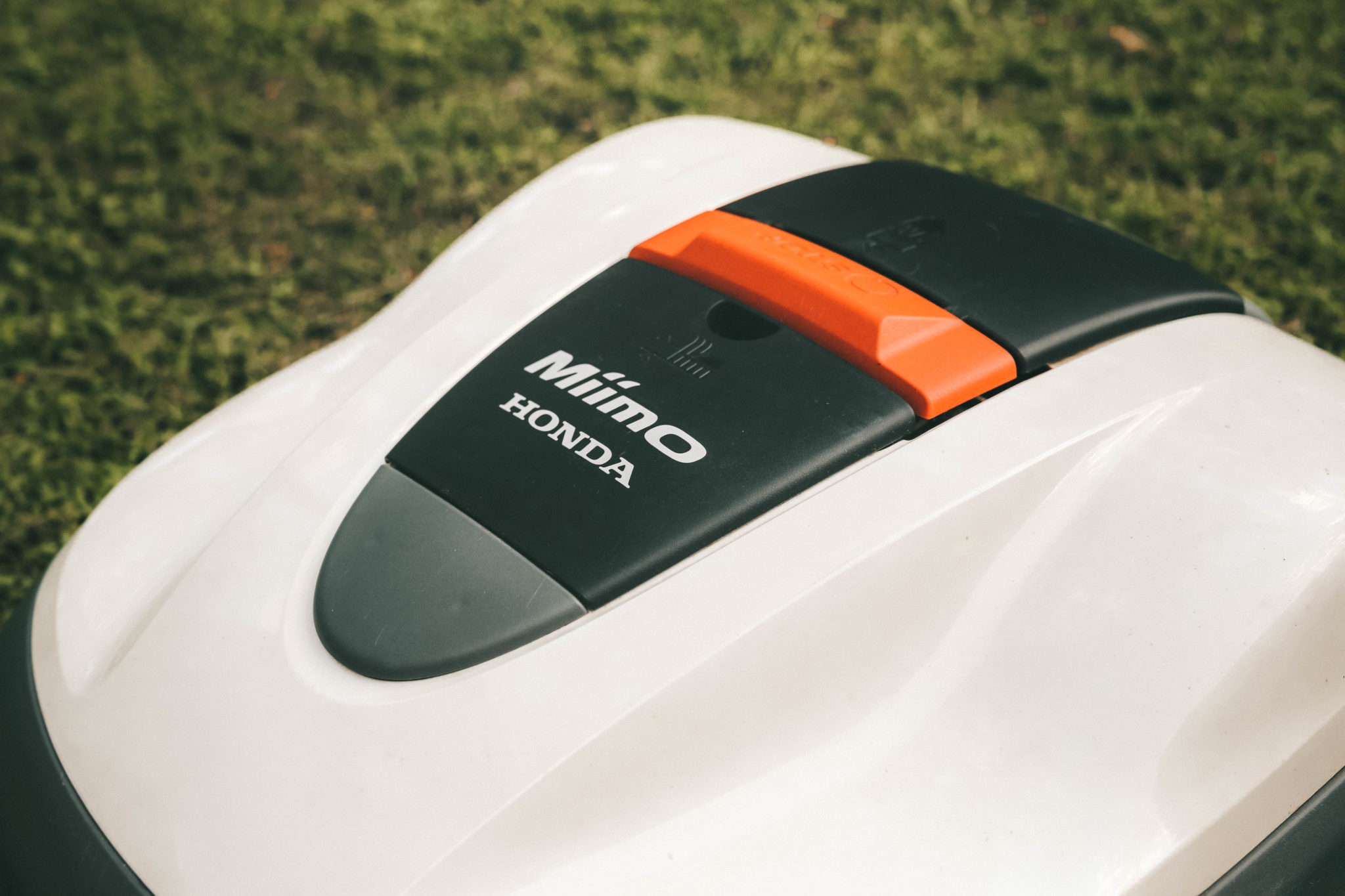 Honda Miimo Robotic Lawn Mower Review by popular Austin lifestyle blog, Dressed to Kill: image of Honda Miimo Robotic Lawn Mower.