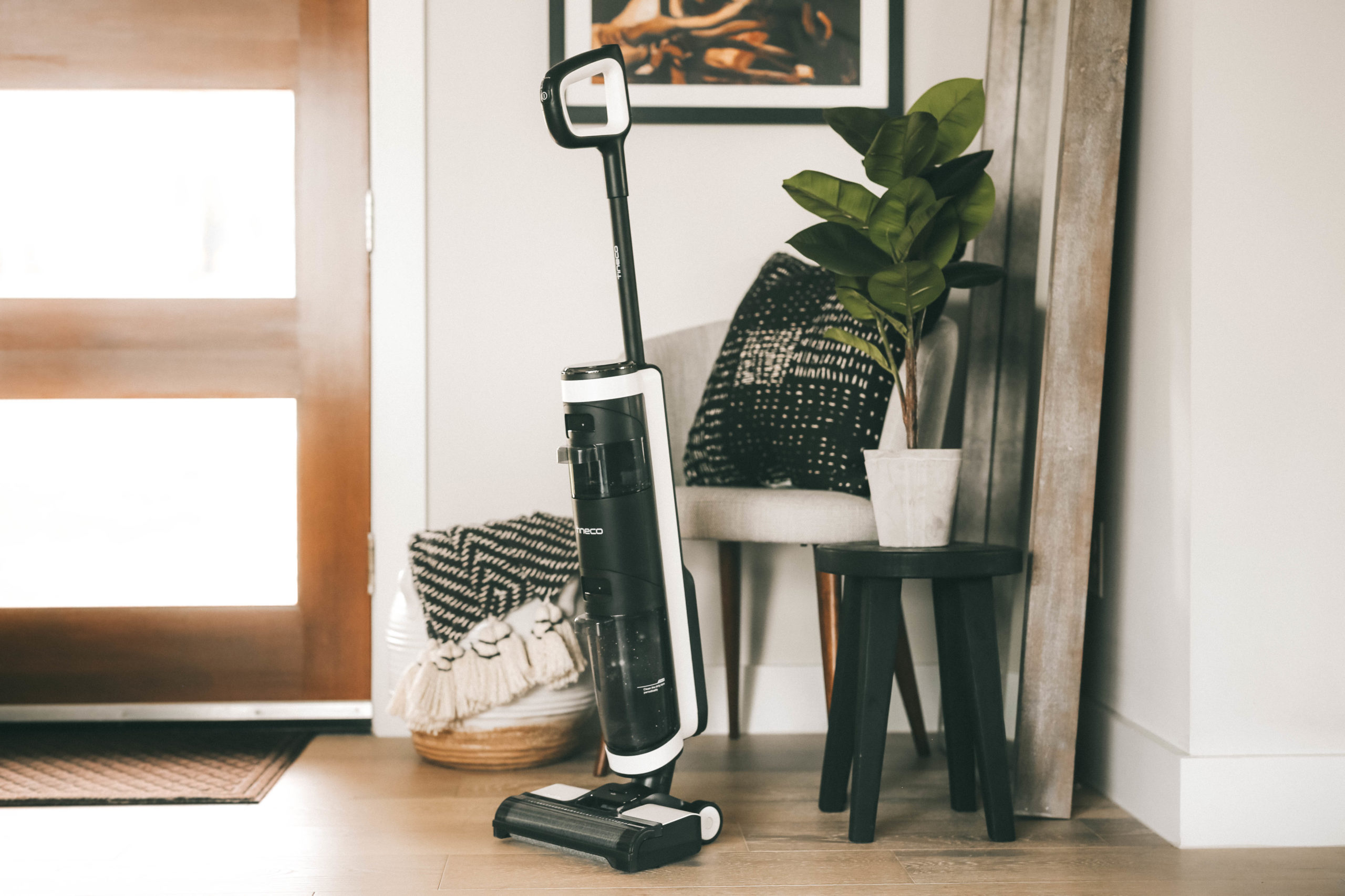 Tineco Floor One S3 by popular Austin lifestyle blog, Dressed to Kill: image of a Tineco Floor One S3 vacuum.