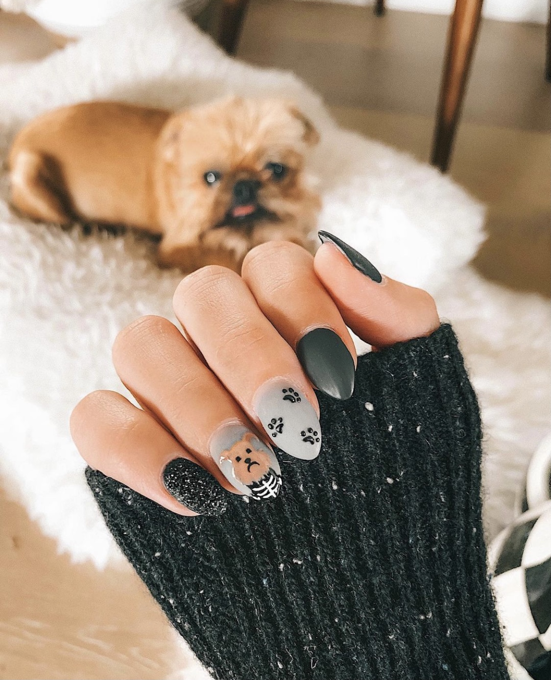 Spooky Halloween Nail Art ideas featured by top Austin life and style blogger, Dressed to Kill